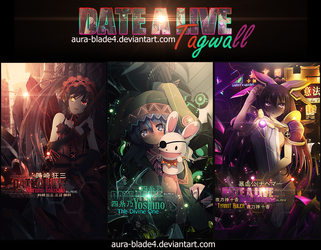 Date A Live Tagwall by Aura-Blade4