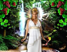 Greek Goddess: Demeter by Gypsy-Love