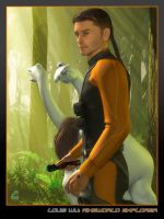 Louis Wu: Ringworld Explorer by RobCaswell