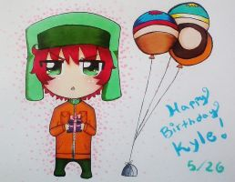 Happy B-day Kyle by yuyafangirl