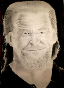 Jeff Bridges Portrait 1 by northernfly