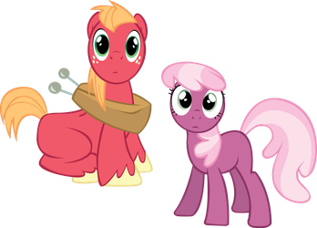Big Mac and Cherilee by Wint3r-S