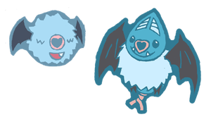 qt woobat and swoobat
