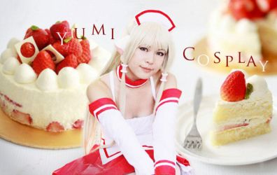 Chii [Maid ver.] from Chobits 01 by YumiCosplay