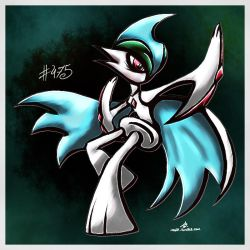 Pokemon of the Week - Mega Gallade by Noyle