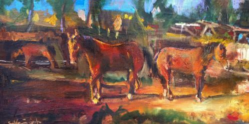 Horses by scifo
