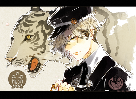 Tiger and Tantou by Cioccolatodorima
