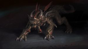 Free creature concept - courtesy MonstersByEmail by Cloister