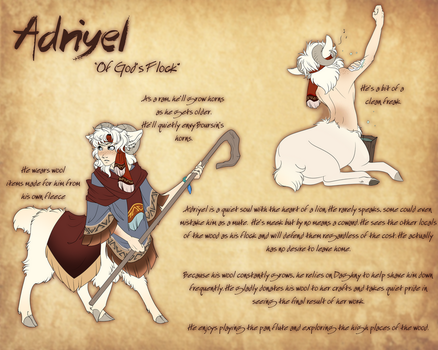 Okhong Draw Me a Sheep Entry - Adriyel by Tigryph