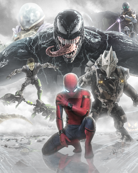 THE FOES OF THE SPIDERMAN by iMizuri