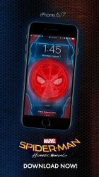Spiderman Home Coming - iPhone 6/7 Lockscreen by hyugewb