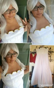 90% done with my Princess Serenity cosplay by Diana-diaz