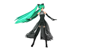 MMD DT Risky Game Miku by willianbrasil