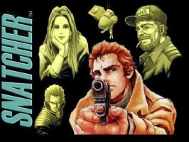 Snatcher Wallpaper by Ninja-Shives