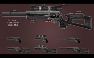 Dan Wesson Revolver Concept by Pirosan