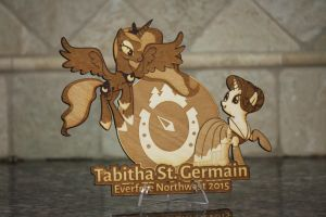 Tabitha St. Germain EFNW 2015 Plaque by Earth-Pony