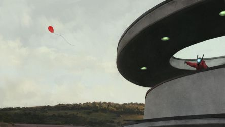 Red Baloon by gourger