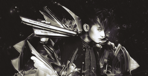 {Signature C4D #16} Happy Birthday Huang Zi Tao by Larry1042k1