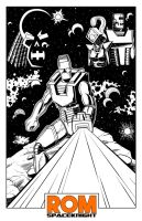 Mantlo Tribute - Lines by SeanRM