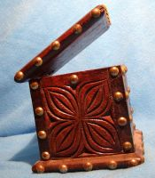 studded wooden box 2... by chop-stock