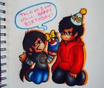 For my Stoner Brother X3c (Coloured) by ChristinaDragon