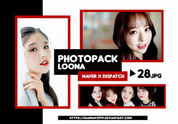 PHOTOPACK LOONA - NAVER x DISPATCH Pt.2 // HANNAK by hannavs999