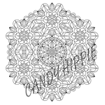 Flowers From Space Mandala by candy-hippie