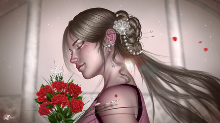Roses are red by Aoleev