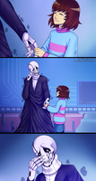 Undertale - It's Okay to be Scared by Tagami-Crown