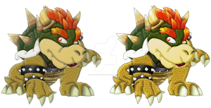 Meleesarus Dino Dragon Turtle - Melee Bowser by IceLucario20xx