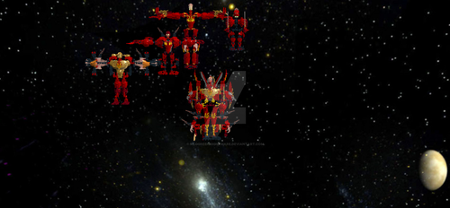 Ultimate Reinforcements-Fire Combiners by MlgGreenNightmare