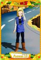 Dragon Ball Z - Android 18 by DBCProject