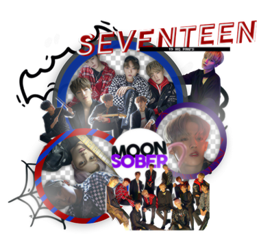 SEVENTEEN(TEEN,AGE)-PNGPACK#2 by MoonSober