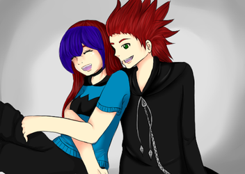 Axel and Yale' by HoneyMochaCat