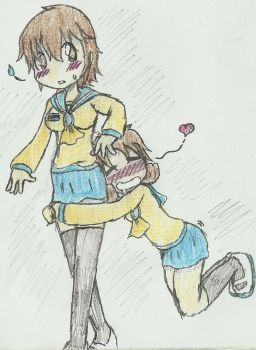 Corpse Party- A Best Friends Best Feature by Lu-WeeGee