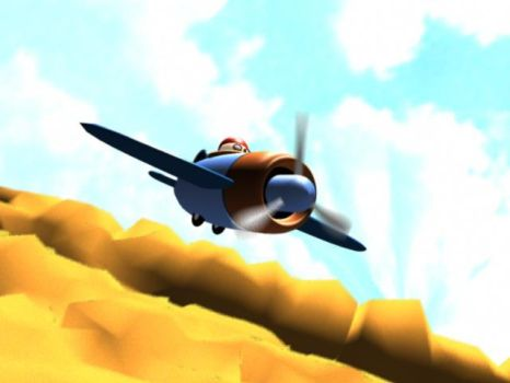 Plane by Scieh