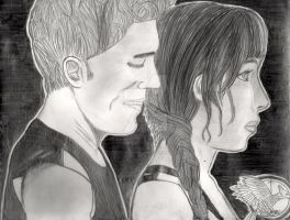 Finnick and Katniss by TheAugustJayhawker
