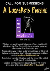 Call for Submissions: A LucasArts Fanzine by marcobrunez