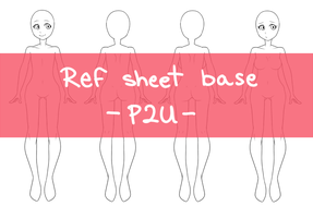 { Ref sheet base : P2U } by BaseStation