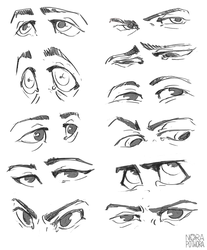Eyes by norapotwora