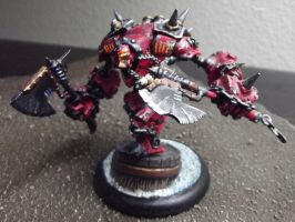 Khador Warjack: Drago by JordanGreywolf