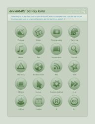 deviantART Gallery Icons by JJ-Ying