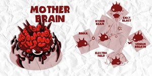 SMASH: MOTHER BRAIN by professorfandango