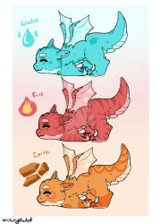 Baby Dragon Adopts (OPEN 3/3) by SketchyOwlet