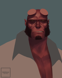 Hellboy by Mainframe110