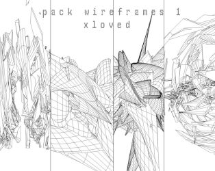 Pack Wireframes V1 by XLoved