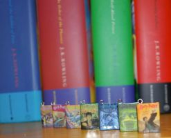 Harry Potter Book Charms by MadHatterBata