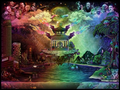 The Altar of Dualism by CultCreations