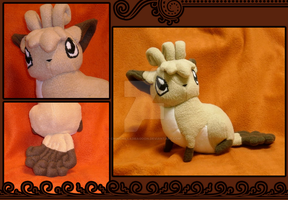 Commission:  Custom Vulpix by ChinchillaDragoon