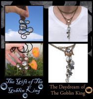 Goblin King Necklaces 1 SOLD by natamon